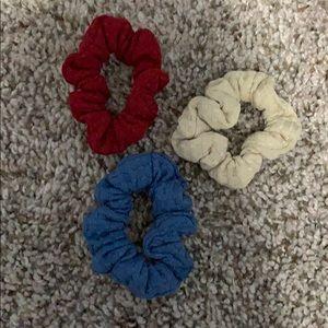 Accessories - skinny scrunchies